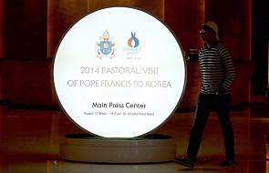 Papież rozpoczyna pielgrzymkę do Korei Płd.