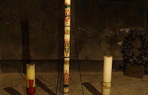 Msza w byłym obozie Auschwitz