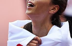 Brązowy medal Joanny Jóźwik w biegu na 800 m