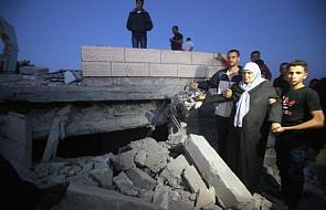 Zniszczono domy palestyńczyków