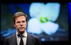 Premier Holandii o nowych sankcjach dla Rosji