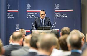 Sikorski: Polska czuje się mniej bezpiecznie