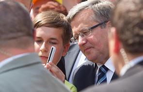Prezydent: nadrabiamy skutki bankructwa PRL