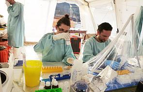 Niebezpieczeństwo zarażenia ebolą rośnie