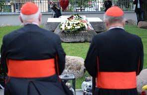 Kard. Marx nawiedził grób bł. ks. Popiełuszki