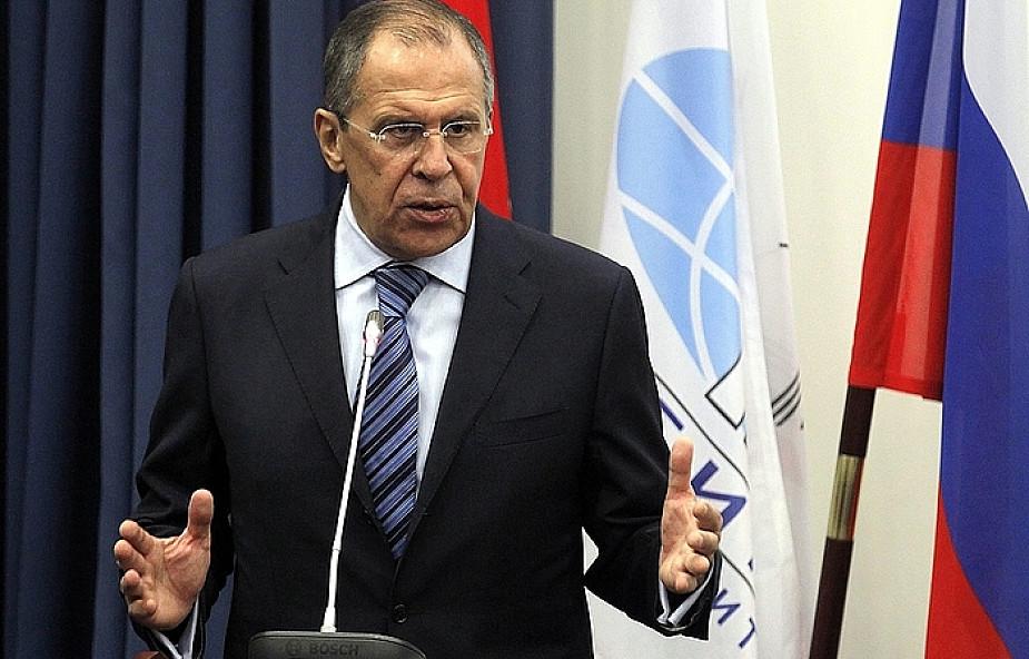 """Ławrow o """"prowokacyjnej polityce NATO"""""""