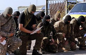 Ukraina: zawieszenie broni i wymiana jeńców