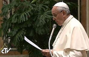"""Franciszek: """"Opiekujcie się niwą Pańską"""""""