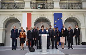 Ewa Kopacz podała nowy skład Rady Ministrów