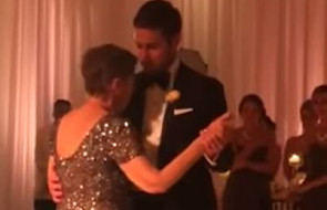 Zobacz niezwykły taniec weselny