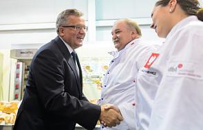 Prezydent na otwarciu targów Polagra