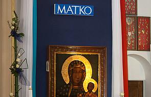 Jasnogórska Maryja w sanktuarium św. Boboli
