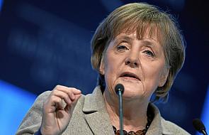 Merkel jest za utrzymaniem sankcji wobec Rosji