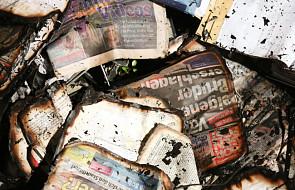 Niemcy: podpalono redakcję pisma w Hamburgu