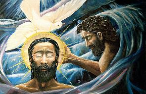 Dziś niedziela Chrztu Pańskiego