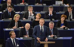 Tusk w PE o systemie informacji o pasażerach