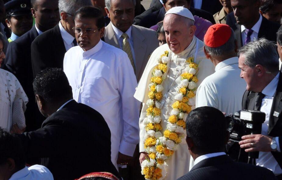 Papież w Sri Lance o pojednaniu narodowym