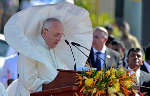 Papież Franciszek przybył do Sri Lanki