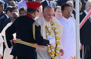Papież na Sri Lance: nie wykorzystywać religii