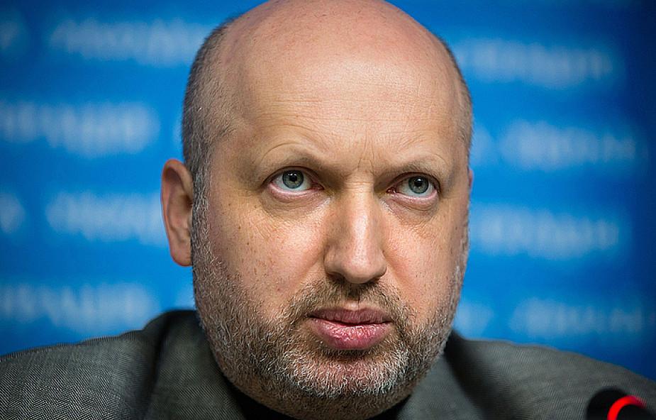 Ołeksandr Turczynow odwołał wizytę w Polsce