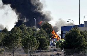 10 zabitych w wypadku F-16 w bazie wojskowej