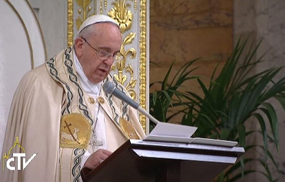 Papież: jedność to nie owoc subtelnych dyskusji