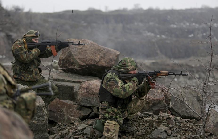 Separatyści informują o sukcesach w Doniecku