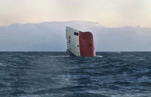 Szkocja: Zatonął statek, wśród załogi Polacy
