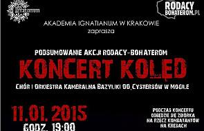 """Charytatywny Koncert Kolęd-""""Rodacy-Bohaterom"""""""