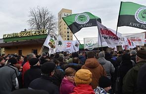 Ponad 2 tys. górników protestuje pod ziemią