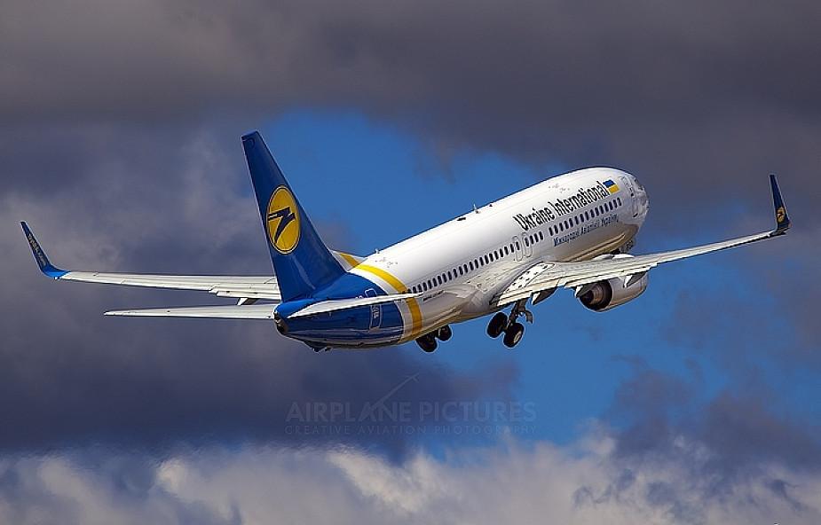 Ukraina wstrzymuje połączenia lotnicze z Rosją