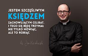 Ks. Kaczkowski o celibacie i łażeniu w sutannie