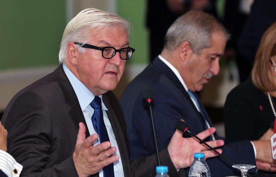 Steinmeier ostrzega przed konfliktem na Bałkanach