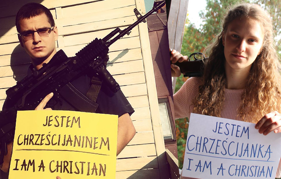 Jestem chrześcijaninem, macham karabinem?