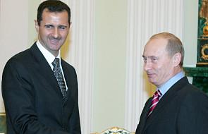 Baszar el-Asad spotkał się z Putinem w Moskwie