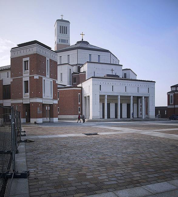 Sanktuarium JPII - świątynia, która pobudza wiarę - zdjęcie w treści artykułu nr 1