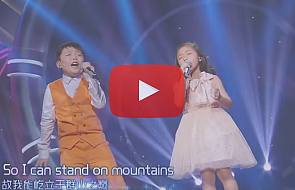 Powalili na kolana chińską publiczność hymnem religijnym [WIDEO]