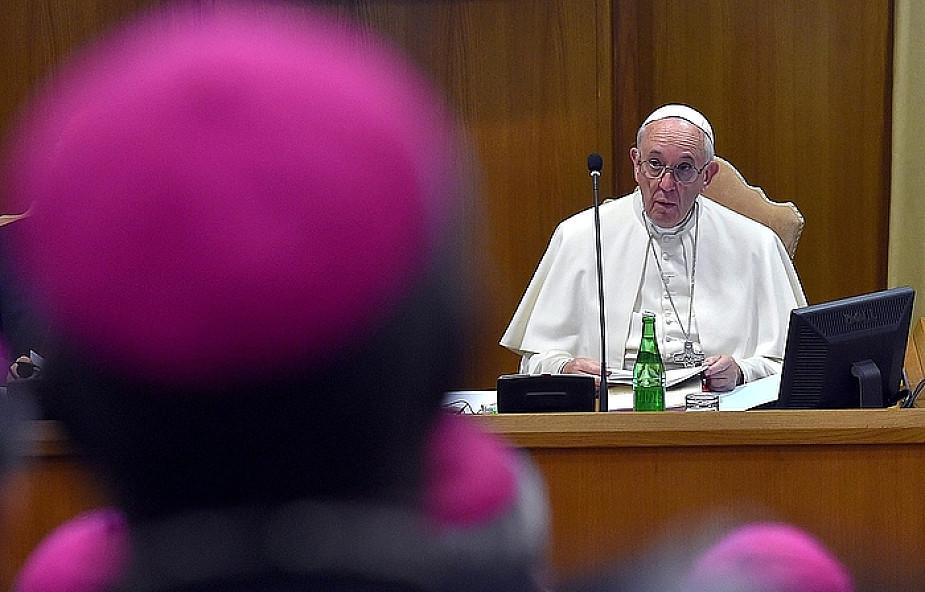 Przemówienie Franciszka kończące Synod