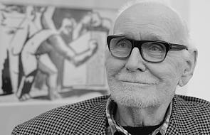 Nie żyje Wojciech Fangor, prekursor malarstwa iluzjonistycznego