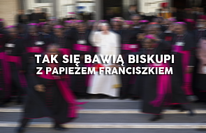 Zobacz najbardziej sympatyczne zdjęcie z Synodu