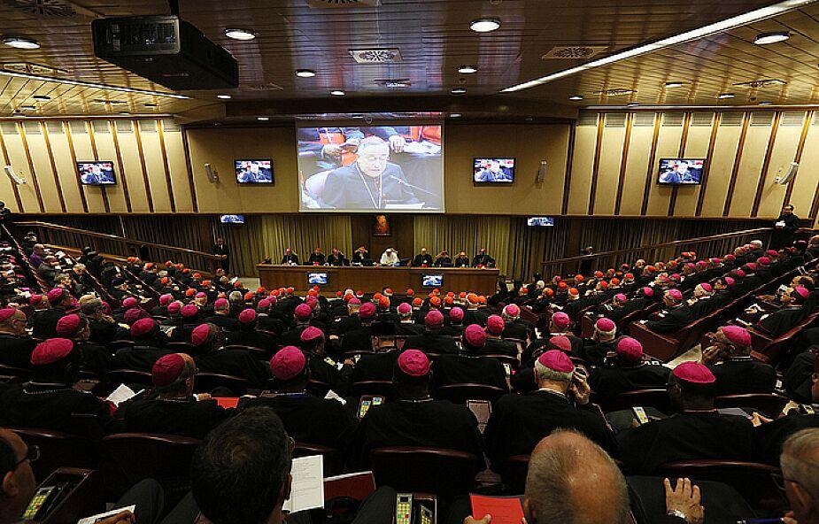 Bezprecedensowa decyzja ws. Synodu