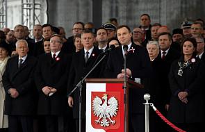 Duda: Polacy muszą pamiętać o swojej historii