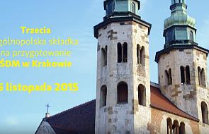 W niedzielę ogólnopolska taca na ŚDM Kraków 2016