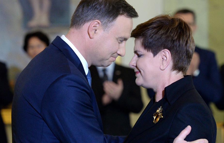 Prezydent desygnował Beatę Szydło na szefa rządu