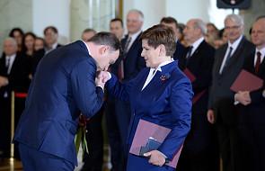 Prezydent Duda powołał rząd Beaty Szydło