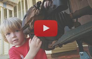 Co się dzieje, gdy ojciec i jego 5-letni syn łączą siły [WIDEO]