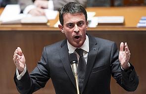 Premier Francji: terroryści mogą użyć broni chemicznej