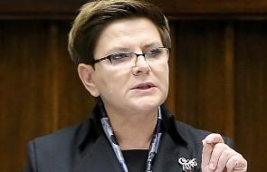 Beata Szydło: sytuacja jest pod kontrolą