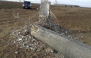 Tatarzy umożliwili remont linii przesyłającej prąd na Krym
