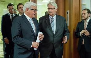 Szefowie MSZ o polsko-niemieckiej współpracy